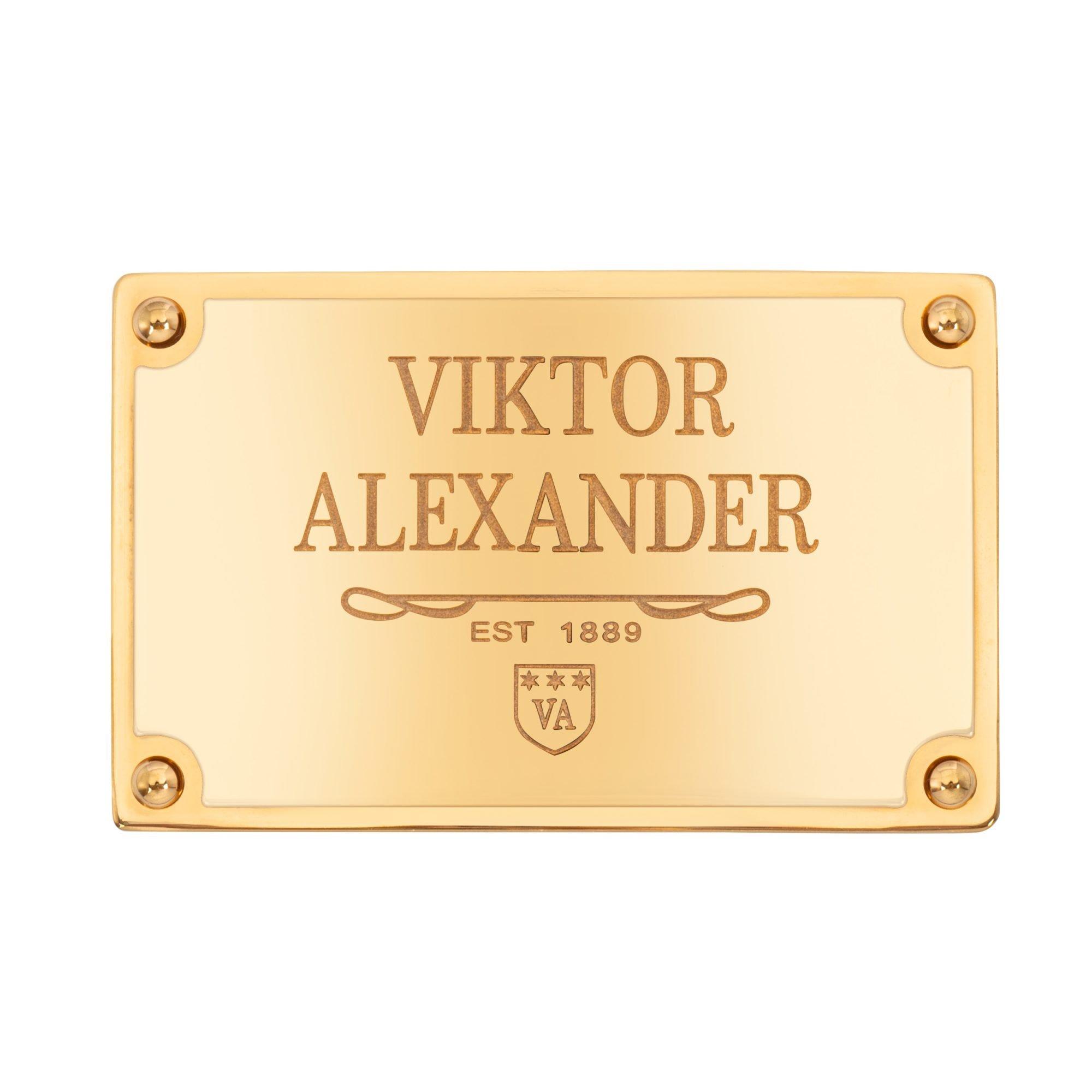 VIKTOR ALEXANDER 35MM STAINLESS STEEL LUXURY BUCKLE 1889 BUCKLE